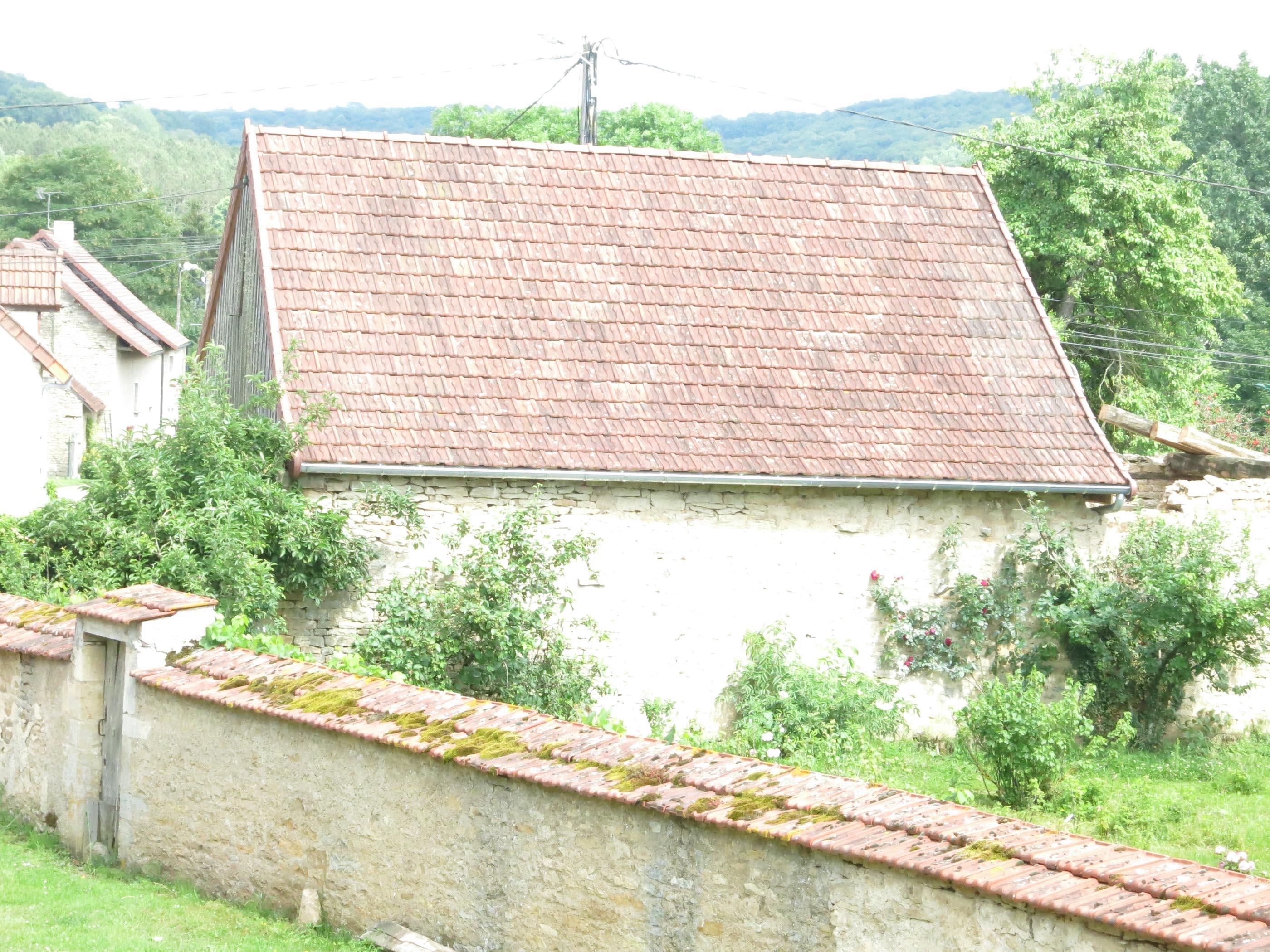 Grange Bellenot sous Pouilly couverture tuiles mécaniques